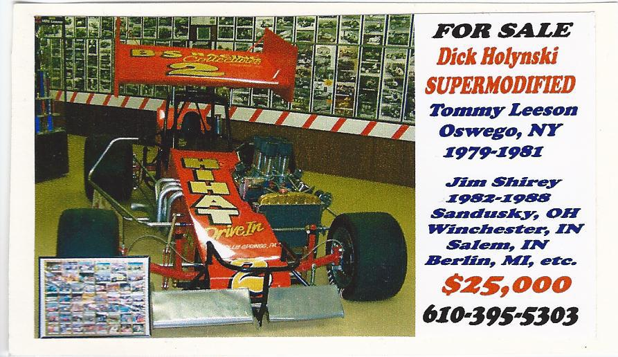 Supermodified Car For Sale In: KeystoneLegends.com-Used Cars For Sale